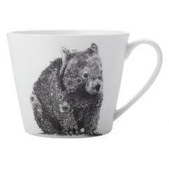 MARINI FERLAZZO Becher Wombat, Premium-Keramik, in Geschenkbox