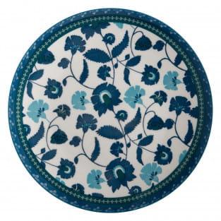 RHAPSODY Teller Blau, 26,5 cm, Porzellan
