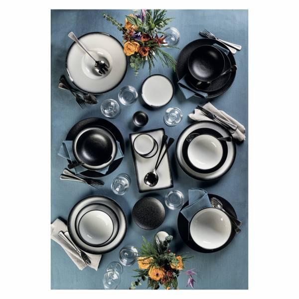 CAVIAR BLACK Teller 20 cm, Premium-Keramik