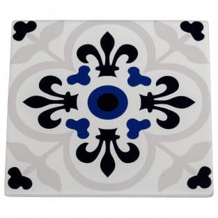 MEDINA Topfuntersetzer Temara 15 cm, Keramik - Kork