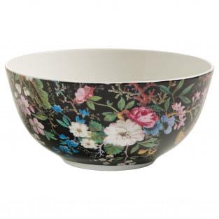 KILBURN Schale Midnight Blossom, 16 cm, Bone China Porzellan, in Geschenkbox