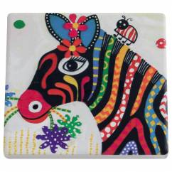 SMILE STYLE Untersetzer Stripes, Keramik - Kork