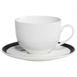 CHARLTON Tasse mit Untertasse, Porzellan