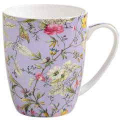 KILBURN Becher Winter Bloom, Bone China Porzellan, in Geschenkbox