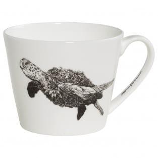 MARINI FERLAZZO Becher Sea Turtle, Premium-Keramik, in Geschenkbox