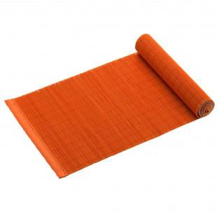 PLACESETS Tischläufer Orange, 150 x 30 cm, Bambus