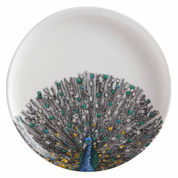 MARINI FERLAZZO Teller 20 cm, Peacock, Premium-Keramik, in Geschenkbox