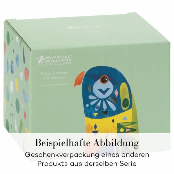 PETE CROMER Becher Budgerigar, Porzellan, in Geschenkbox