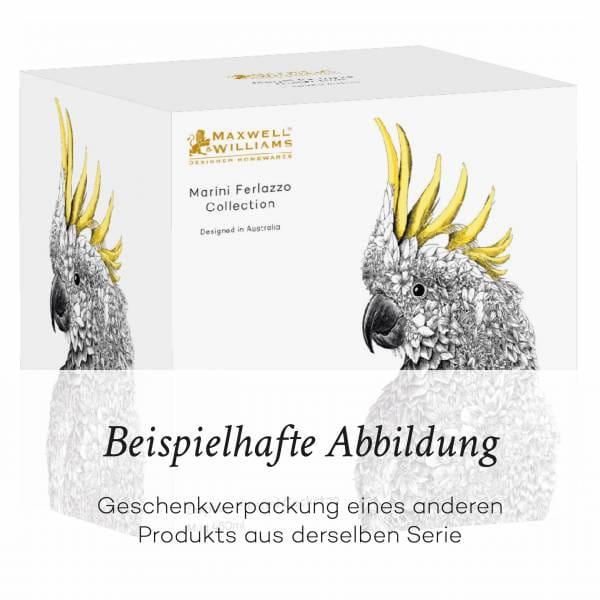 MARINI FERLAZZO Becher Peacock, Premium-Keramik, in Geschenkbox