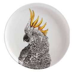 MARINI FERLAZZO Teller 20 cm, Cockatoo, Premium-Keramik, in Geschenkbox