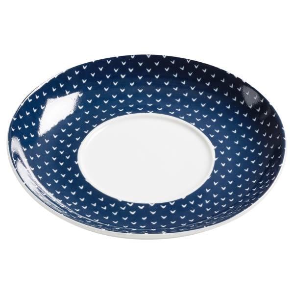 INDIGO Arrow Untertasse zu Tasse & Becher 15,5 cm, Porzellan