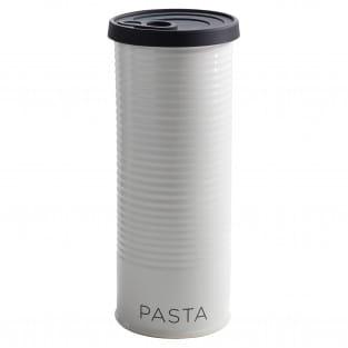 CANISTER Vorratsdose mit Silikondeckel Schwarz Pasta, 1,7 l, Porzellan - Silikon, in Geschenkbox
