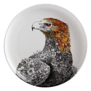 MARINI FERLAZZO Teller Eagle, Premium-Keramik, in Geschenkbox