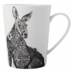 MARINI FERLAZZO Becher Kangaroo, Premium-Keramik, in Geschenkbox