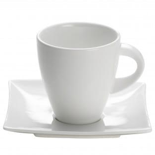 EAST MEETS WEST Tasse mit Untertasse 170 ml, Porzellan