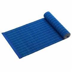PLACESETS Tischläufer Blau, 150 x 30 cm, Bambus