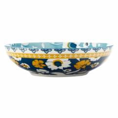 RHAPSODY Schale Blaugrün, 20 cm, Porzellan