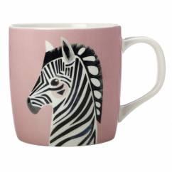 PETE CROMER Becher Zebra, Porzellan, in Geschenkbox