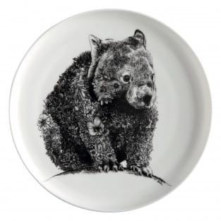 MARINI FERLAZZO Teller Wombat, Premium-Keramik, in Geschenkbox