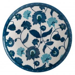 RHAPSODY Teller Blau, 20 cm, Porzellan