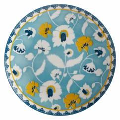 RHAPSODY Teller Blaugrün, 20 cm, Porzellan