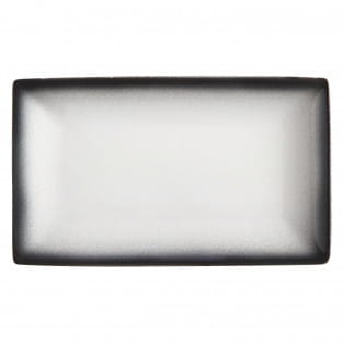 CAVIAR GRANITE Platte 27,5 x 16 cm, Premium-Keramik
