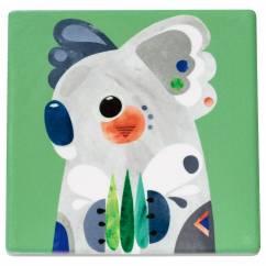 PETE CROMER Untersetzer Koala, Keramik - Kork