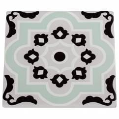 MEDINA Topfuntersetzer Larache 15 cm, Keramik - Kork