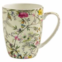 KILBURN Becher Summer Blossom, Bone China Porzellan, in Geschenkbox