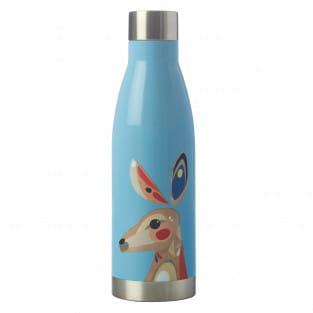 PETE CROMER Trinkflasche 500 ml, Kangaroo, Edelstahl