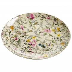 KILBURN Teller Summer Blossom, 20 cm, Bone China Porzellan, in Geschenkbox