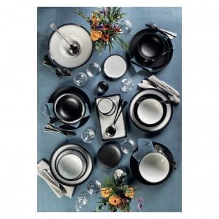 CAVIAR GRANITE Teller 27 cm, Premium-Keramik