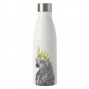 MARINI FERLAZZO Trinkflasche 500 ml, Cockatoo, Edelstahl