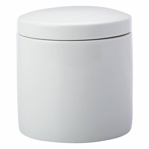 EPICURIOUS Vorratsdose Weiß, 1000 ml, Porzellan, in Geschenkbox