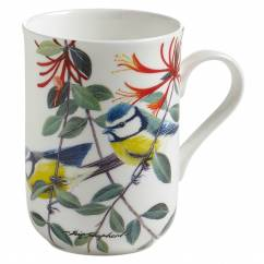 BIRDS OF THE WORLD Becher Blaumeise, Bone China Porzellan, in Geschenkbox