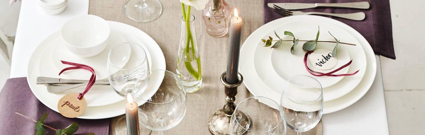Placesets – Tischläufer und Platzsets