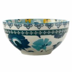 RHAPSODY Schale Blaugrün, 12,5 cm, Porzellan