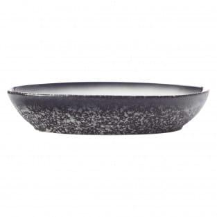 CAVIAR GRANITE Schale oval, 30 x 20 cm, Premium-Keramik