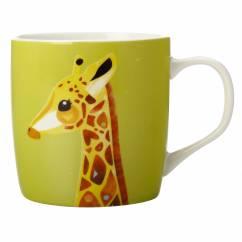 PETE CROMER Becher Giraffe, Porzellan, in Geschenkbox
