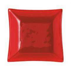 MONDO Sossenteller Flame Rot 7,5cm, Glas
