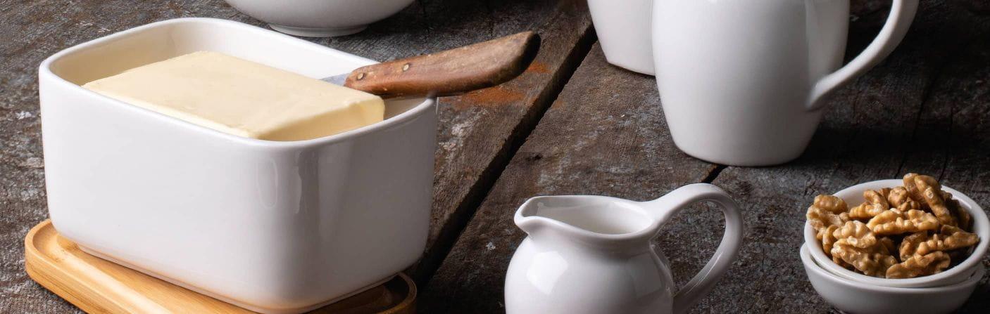 Butter & Konfitüre – Klassiker des Frühstückstischs