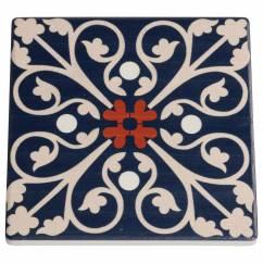 MEDINA Untersetzer Fes, 9,5 cm, Keramik - Kork