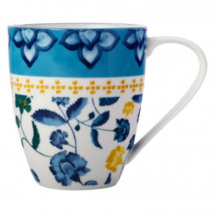 RHAPSODY Becher Blaugrün, Porzellan