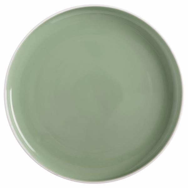 TINT Teller 20cm, Mint, Porzellan