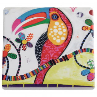 SMILE STYLE Untersetzer Tango, Keramik - Kork