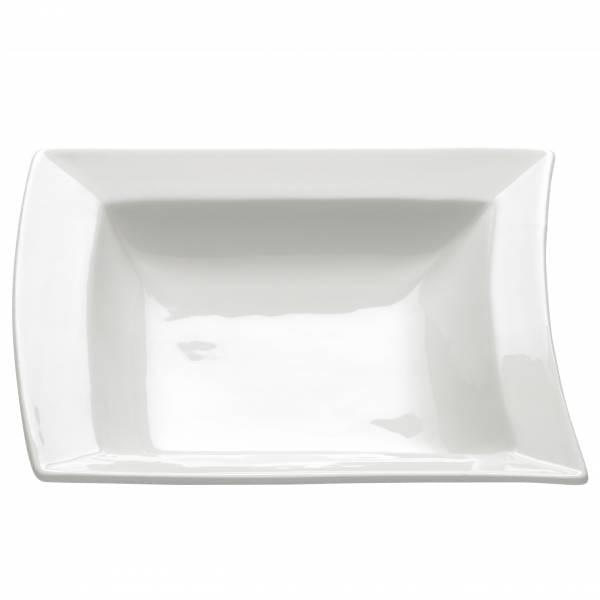 SWAY Teller tief, 17 cm, Porzellan