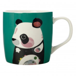 PETE CROMER Becher Panda, Porzellan, in Geschenkbox