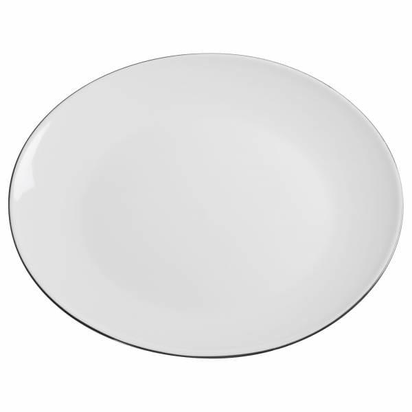 EDGE Teller 28 cm, Premium-Keramik
