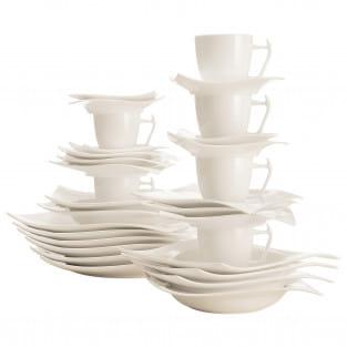 MOTION Kaffee- und Tafelset 30-teilig, Porzellan, in Geschenkbox