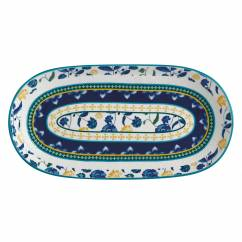 RHAPSODY Platte Blau, 33 x 17 cm, Keramik, in Geschenkbox